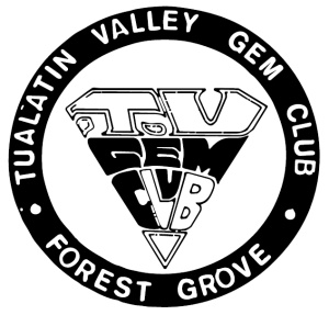 Tualatin Valley Rock and Gem Club Historical Logo