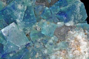 Fluorite, galène